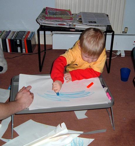 child crayon